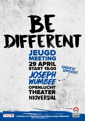 Poster Jeugdmeeting 29 april 2